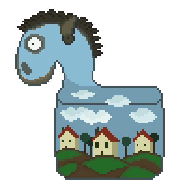 Just A Regular Horse by AwshomeHat