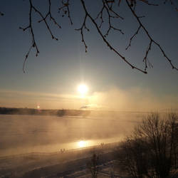 Cold morning by dsma