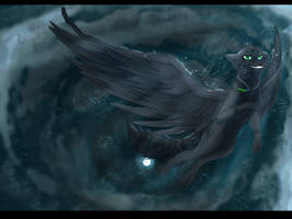 Flight at Night by Umikah