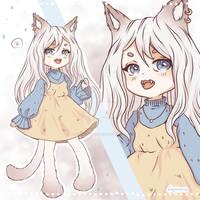 [OPEN] Cute Girl Adoptable (SB:$4) by KongarSurun