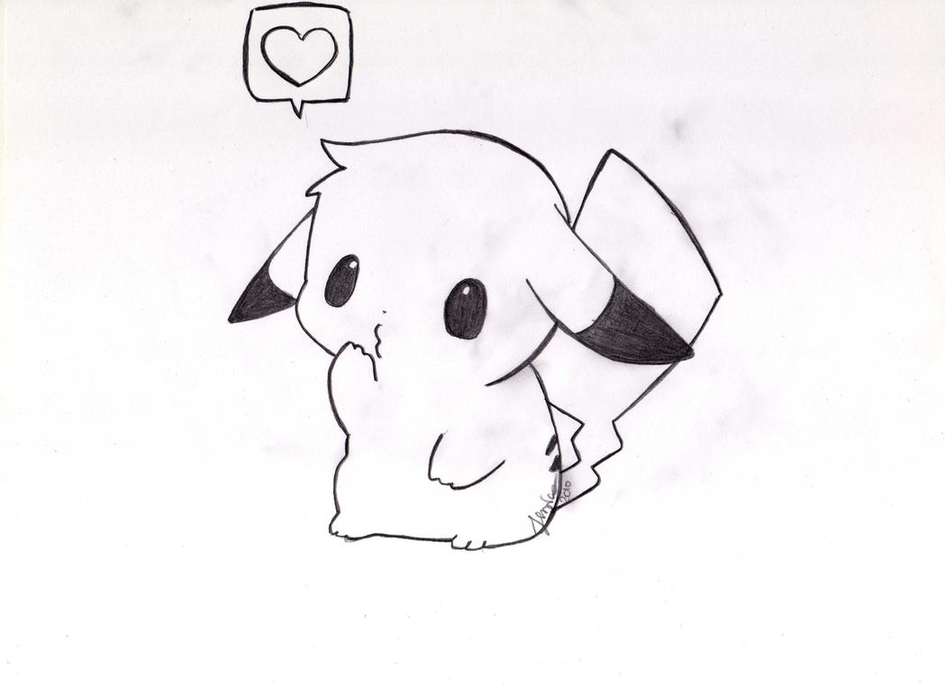 Cute baby pikachu coloring pages - photo#3