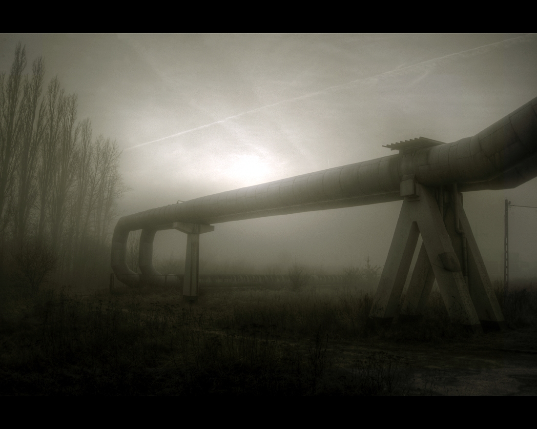 Industrial pipe by Beezqp