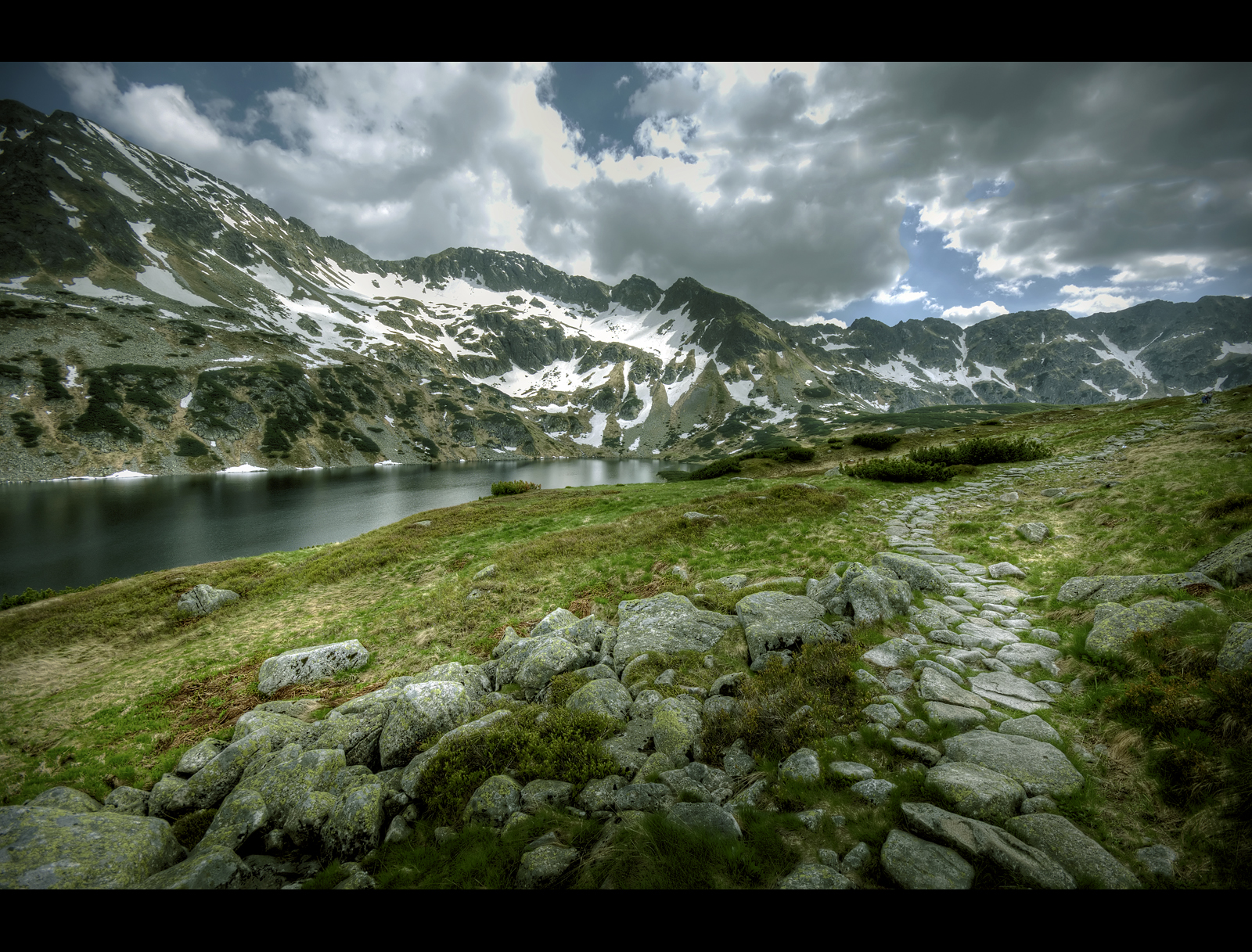The Valley of the Five Lakes - The Great Lake III by Beezqp