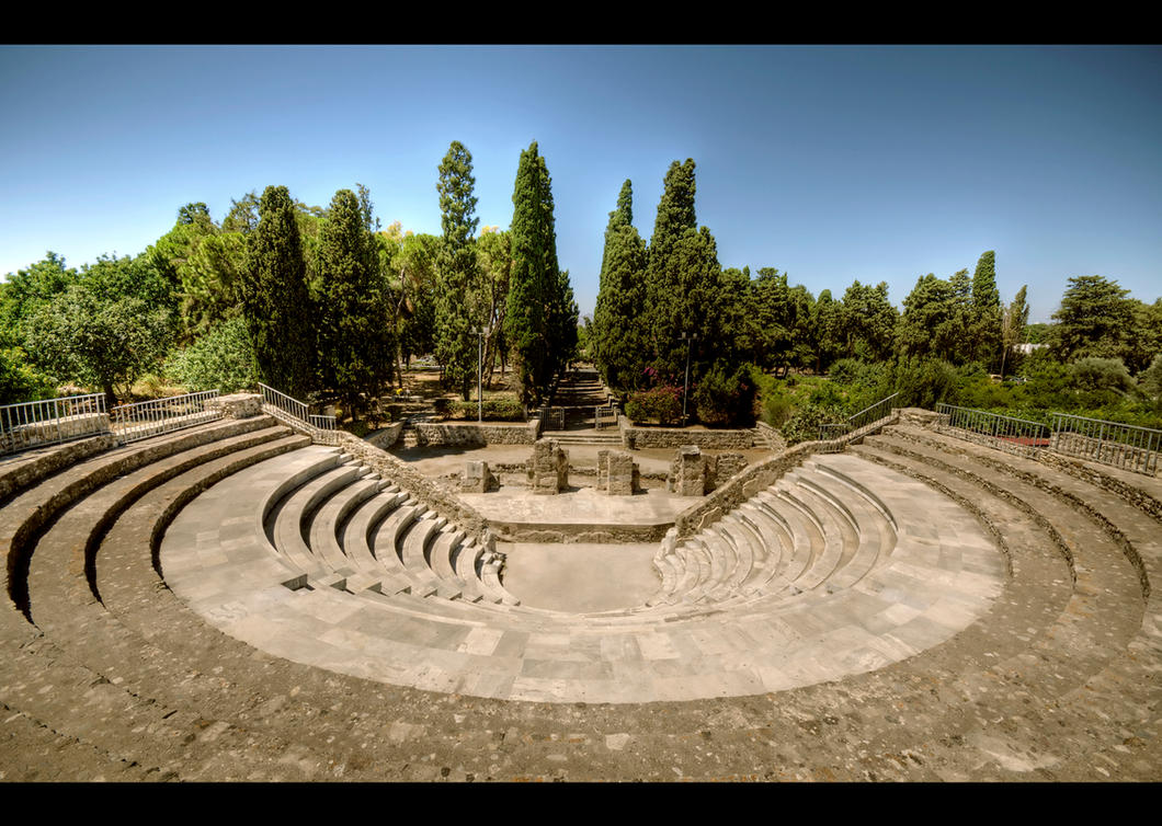 Roman Odeon by Beezqp