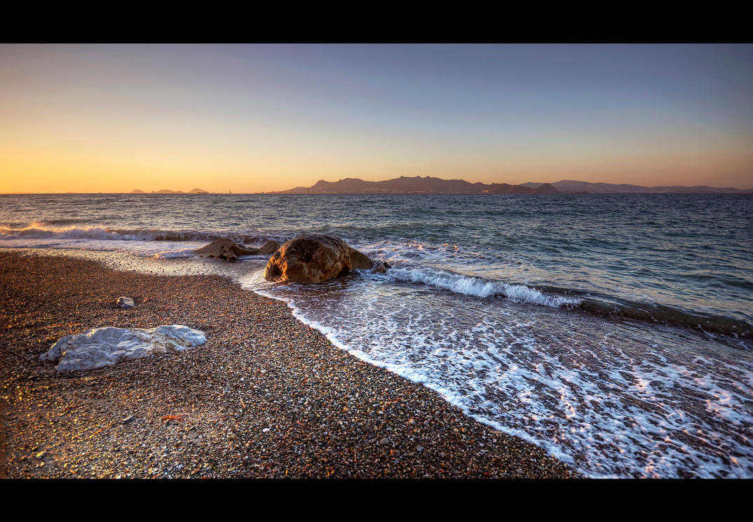 A Step from the Sea by Beezqp