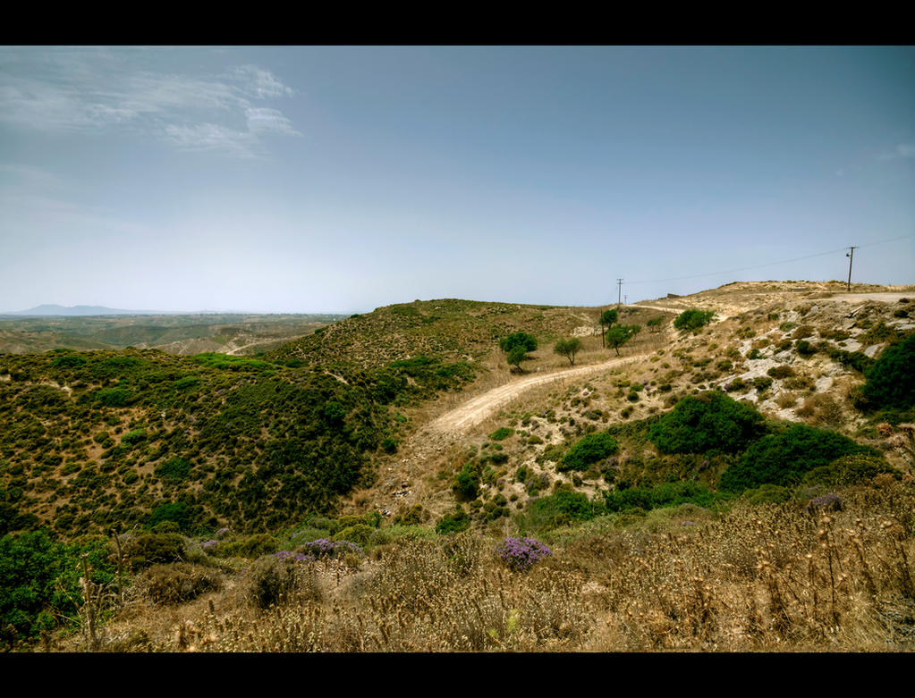 Hills of Kardamena III by Beezqp