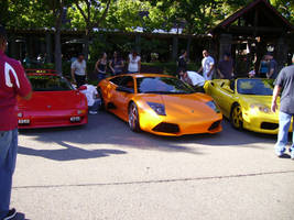 Hot-colored cars by Dogman15