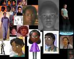 Cassie collage