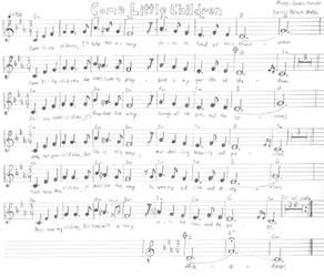 Come Little Children sheet music by Dogman15