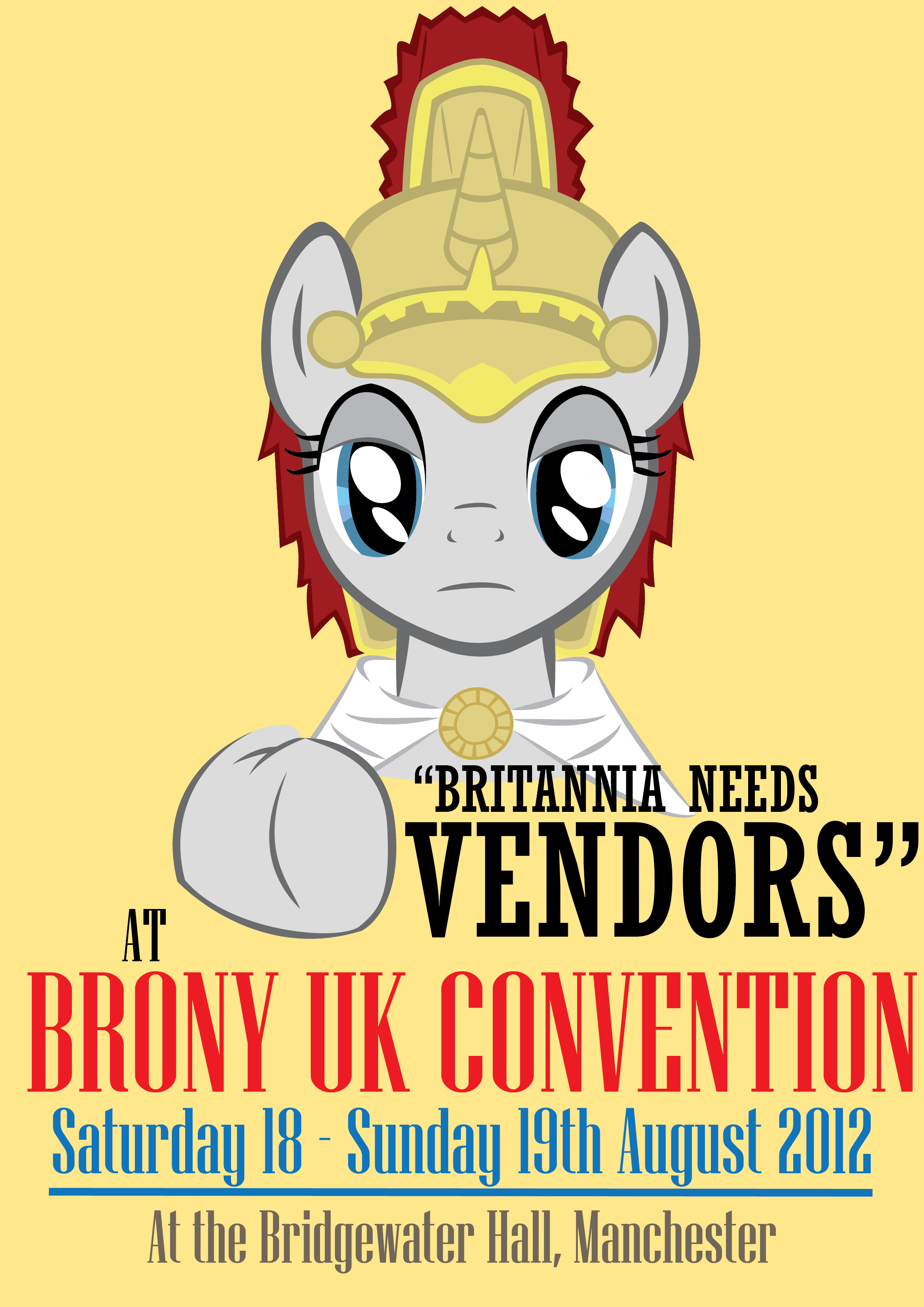 Brony UK Convention - Britannia Needs Vendors! by Baron-Kettell