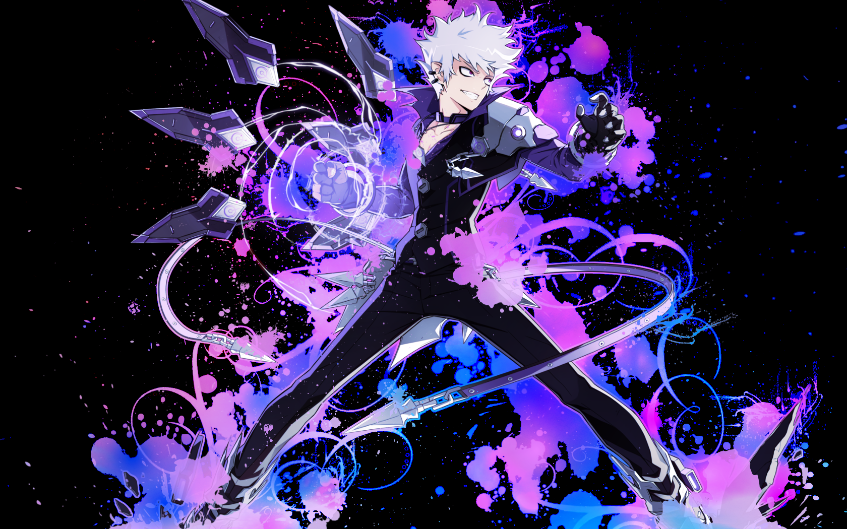 Wallpaper lunatic psyker elsword by luckyshiney on deviantart wallpaper lunatic psyker elsword by luckyshiney voltagebd Image collections