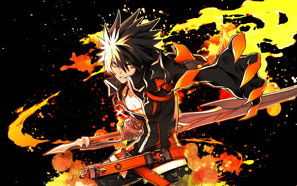Wallpaper recklessfist raven elsword by luckyshiney on deviantart wallpaper recklessfist raven elsword by luckyshiney voltagebd