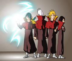 Sparkus, Brito, Nicolas and Oto by Animachado