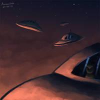 Alien Invasion by Animachado