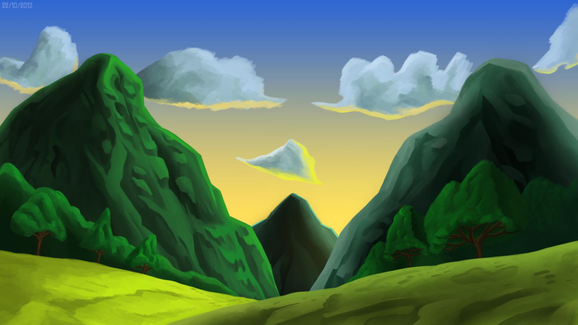 The Dragon's Mountains