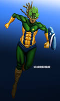 Captain Brazil by Animachado