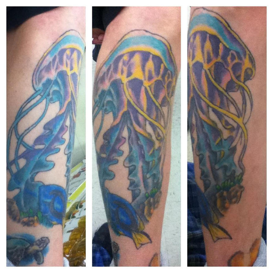 Jellyfish Realistic Tattoo by PsychopathicEnvy on DeviantArt