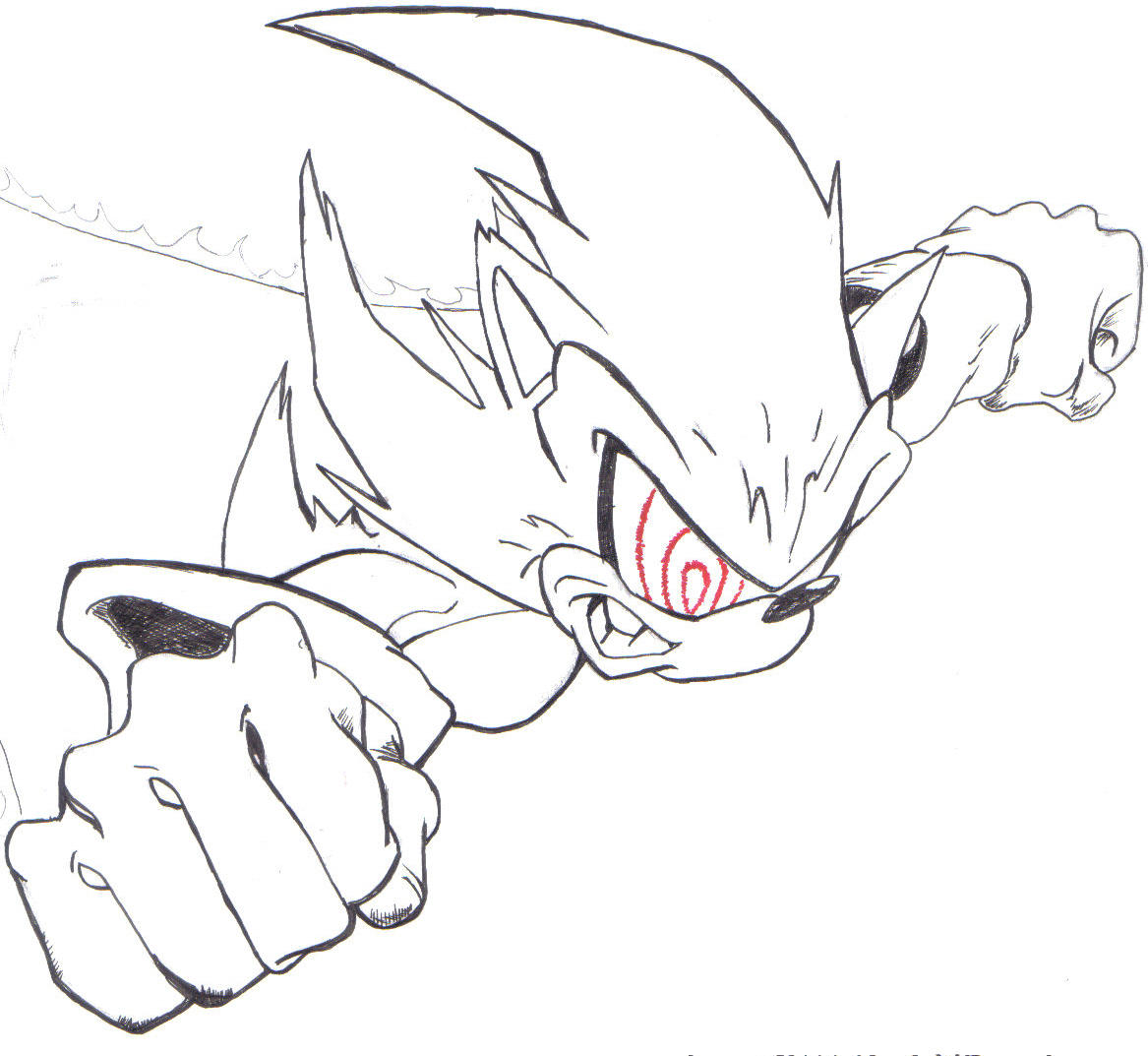 psycosis super sonic by giokid on deviantart