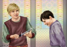 Edmund's gift to Peter by tallterror