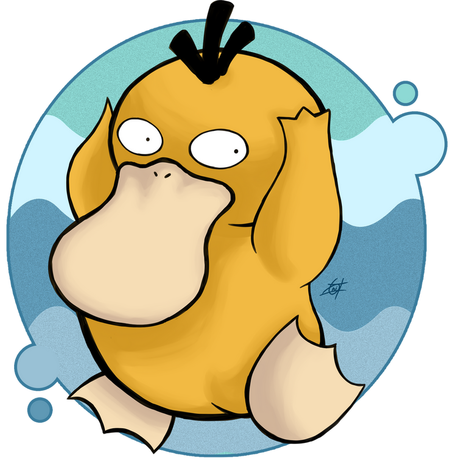 Psyduck by OminousOniBi