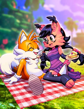 Tails and Nicole