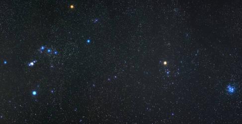Orion to Pleiades