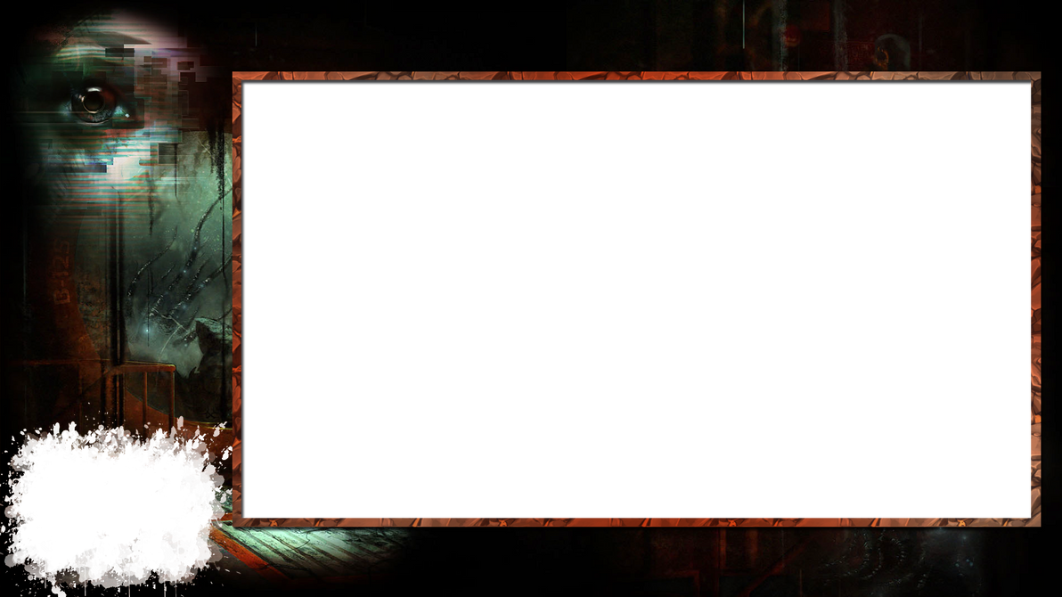 twitch stream overlay horror game soma by h4nabi on. Black Bedroom Furniture Sets. Home Design Ideas