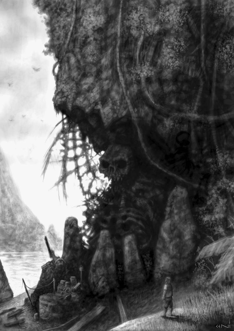 Dark Island by headpie