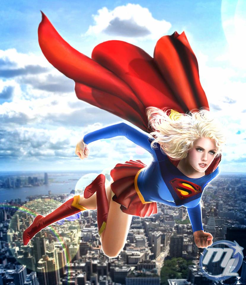 Supergirl by Maryneim