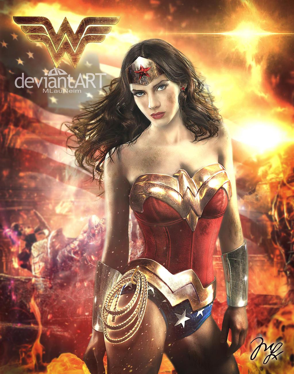 Wonder Woman by Maryneim