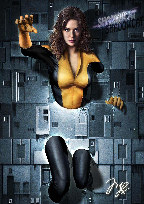 Shadowcat from X-men by MaryneimX Men Shadowcat Movie