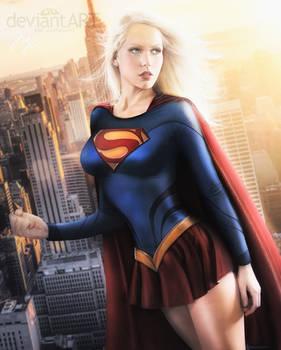 Supergirl II Movie 2013 COMMISSION