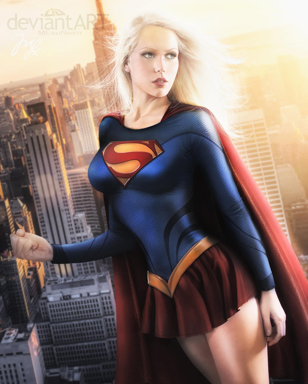 Supergirl II Movie 2013 COMMISSION by Maryneim