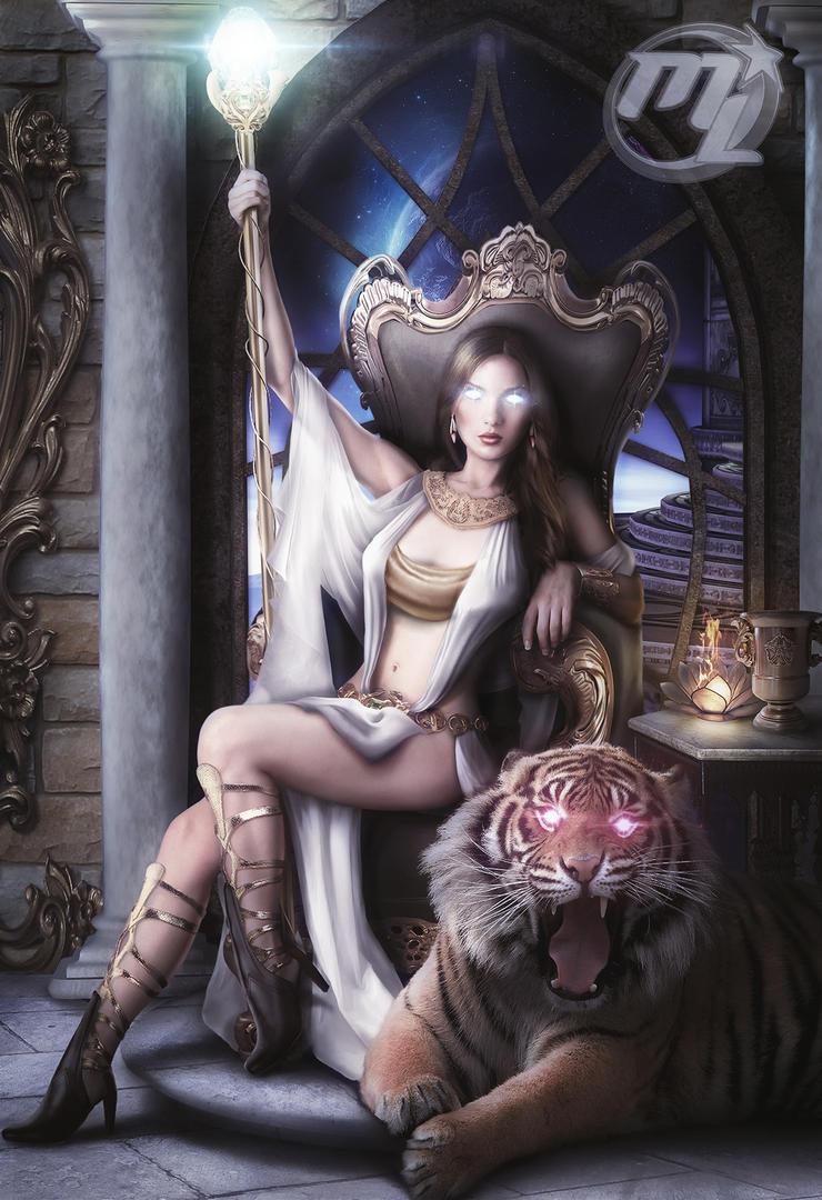 Queen Lauviah by Maryneim