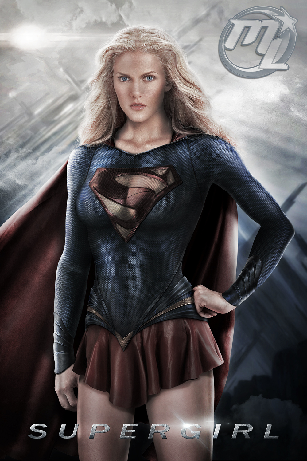 Supergirl from Man of Steel 2013 by Maryneim