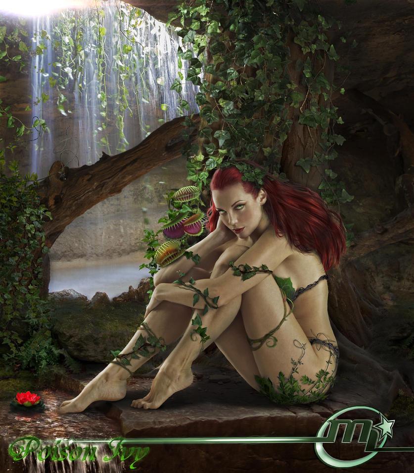 Poison Ivy From Batman DC by Maryneim