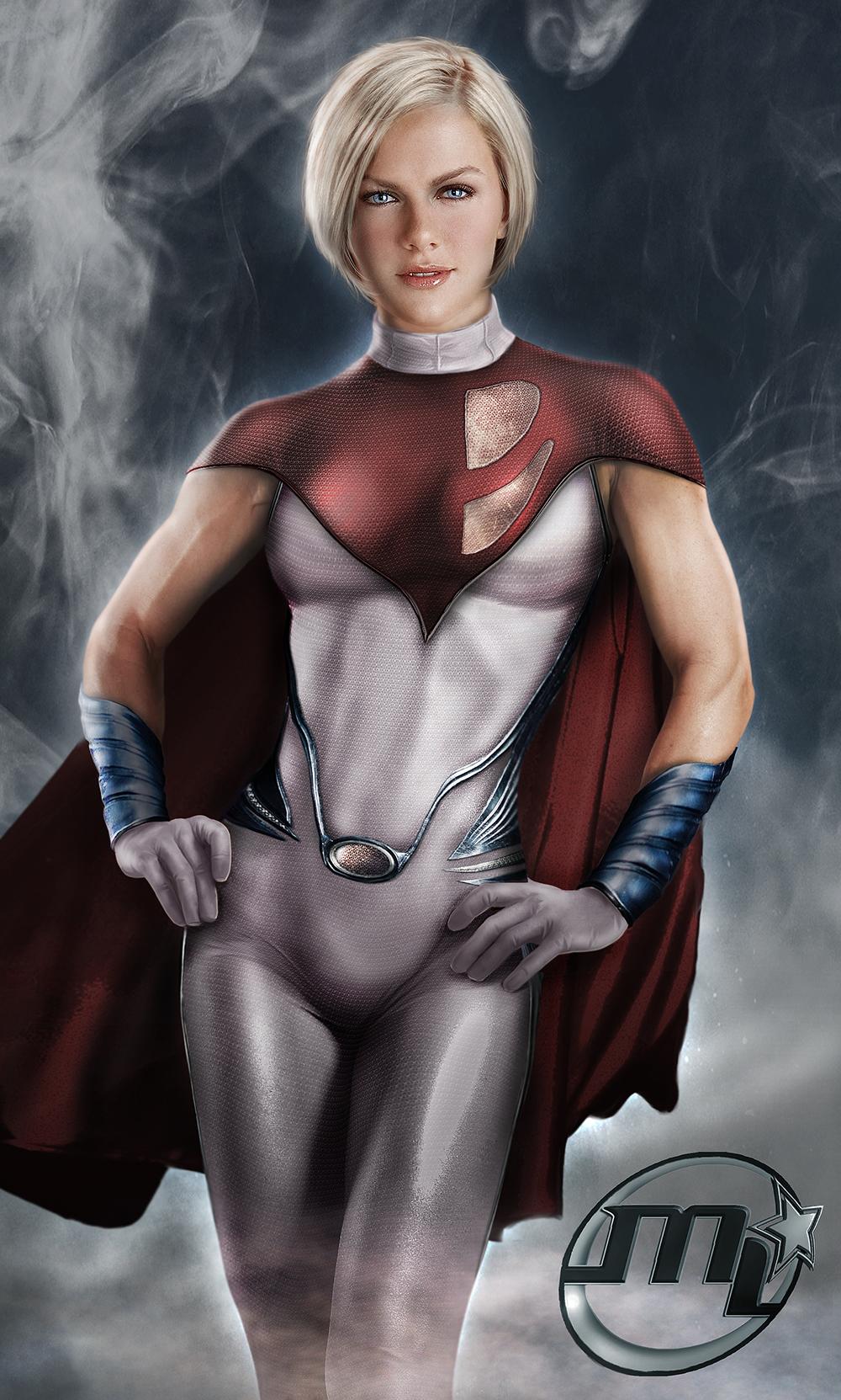 Powergirl From DC by Maryneim