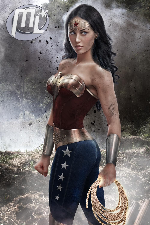 The War Wonder Woman by Maryneim