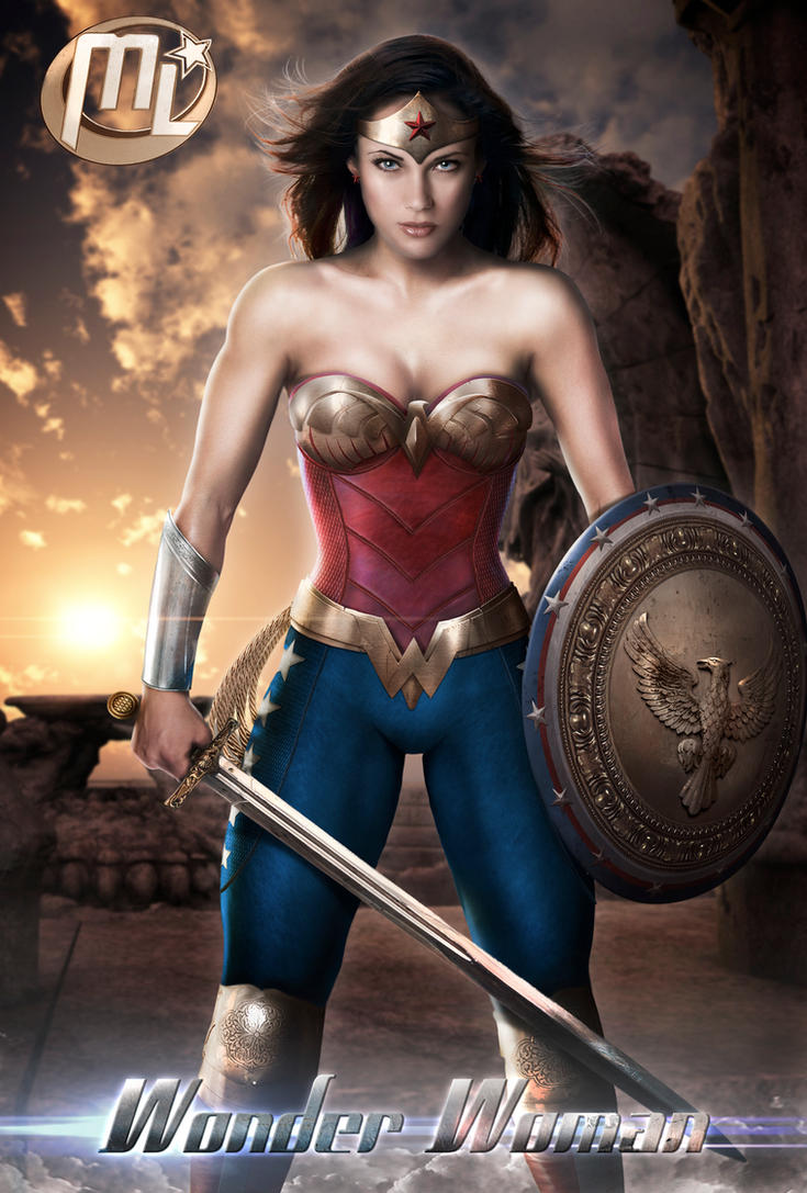 Wonder Woman MOS from Justice League 2015 by Maryneim