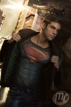 Superboy From Man of Steel