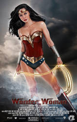 Wonder Woman Gal Gadot Movie by MLauviah