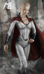 Power Girl MOS by MLauviah