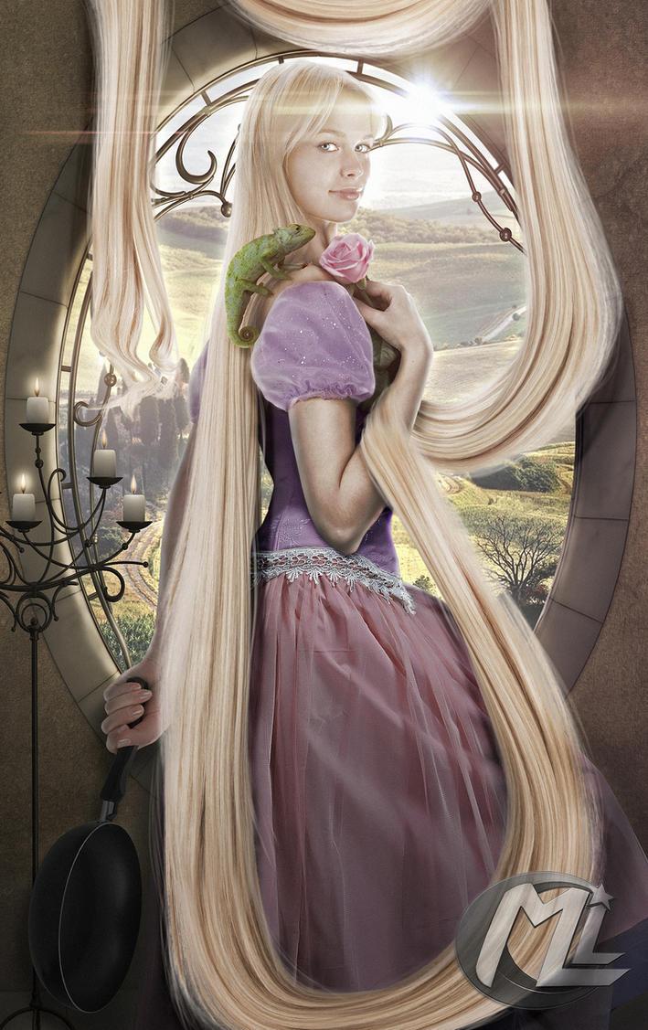 Rapunzel from Disney by Maryneim
