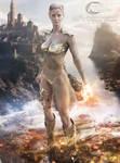 Warrior Queen Leena Commission