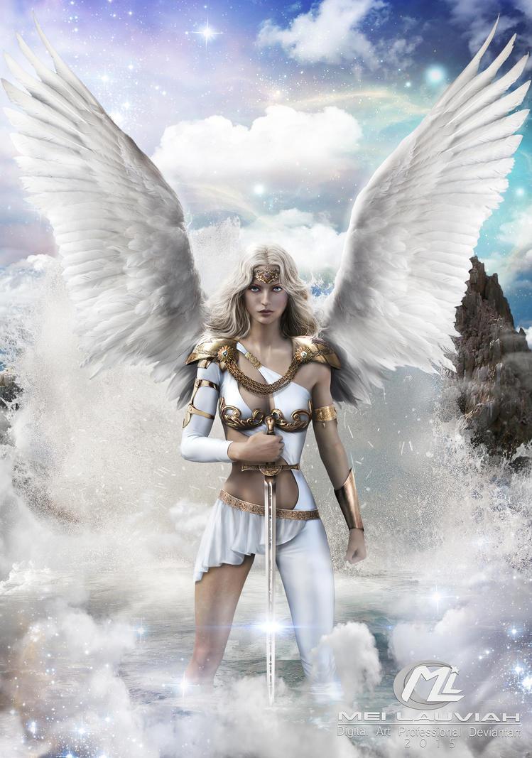 Warrior Amriel Commission by Maryneim