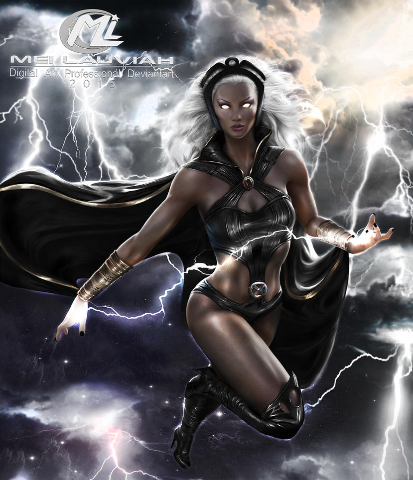 Storm MARVEL Commission by Maryneim