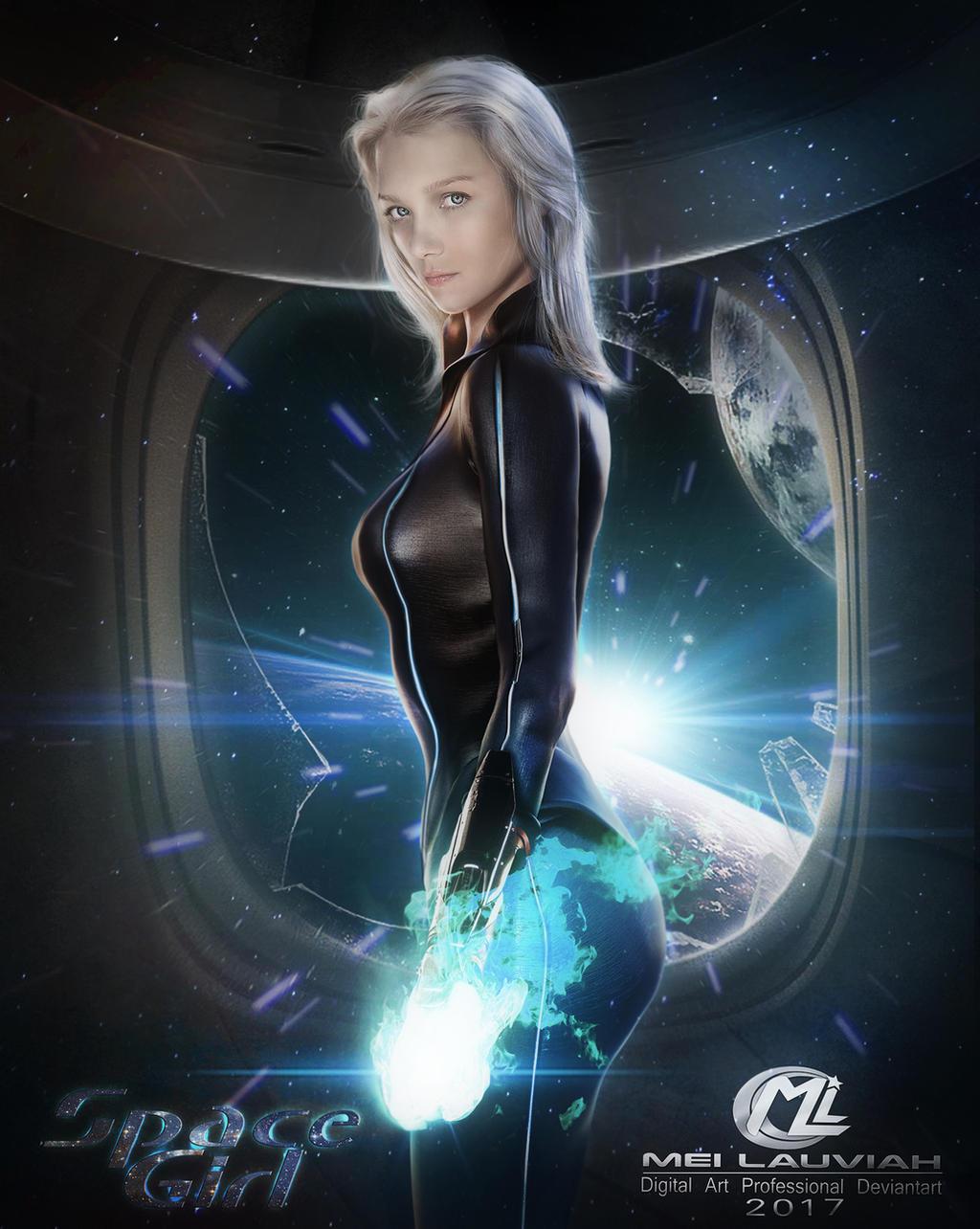 Space Girl by Maryneim