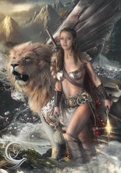 Warrior Margravine and Lion kleen Winged