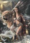 Warrior Margravine and Lion kleen Winged