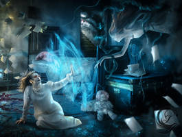 Airiel and Elvira The Sleeping Phantom by MLauviah